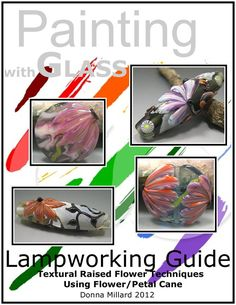 Lampwork bead making technique tutorial.