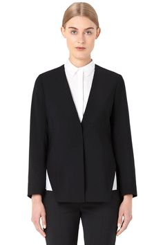 It's Here! Our 10 Favorite Pieces from COS at Opening Ceremony: V-Neck Wool-Mix Blazer, $185