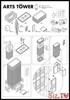 banking architecture This playful piece p - banking Architecture Concept Drawings, Pavilion Architecture, Architecture Portfolio, Architecture Design, Architecture Diagrams, Presentation Layout, Architectural Presentation, Presentation Boards, Architectural Models