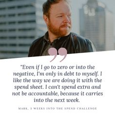 SPEND CHALLENGE | 3 Week Update  We've both learned a lot from the spend challenge. I checked in with Mark to see how he was feeling and what he's learned so far.
