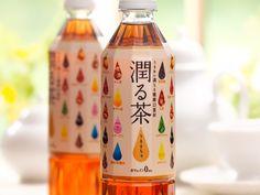 Japan 麒麟 Ururucha. Love this colorful #tea bottle PD