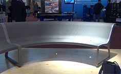CONCRET Bench in Slimconcrete technology