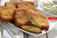 Le zucchine cremose in carrozza sono uno sfizio con un ripieno dal gusto fresco. Facili da preparare, sono perfette come piatto unico o gustoso antipasto!
