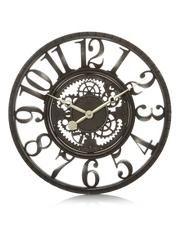 George Home Black Gears Clock