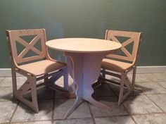 Fun easy to assemble kids table by TulsaKidsSpaces on Etsy