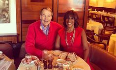 """CBS This Morning anchor Charlie Rose is recovering well after undergoing heart surgery less than two weeks ago. The 75-year-old journalist underwent anaortic valve replacement. Co-host and Oprah best friend, Gayle King went to visit Rose and is very impressed by his progress. King took to Instagram to say: """"Ding ding ding! How good does …"""