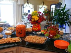 Attractive Food For Halloween Baby Shower