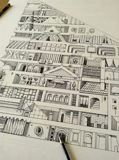 Ana Aragão Coloring Book Art, Scene, Arquitetura, Drawings, Drawing Drawing, Stage
