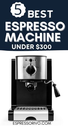 It's give you a clear concept about each and every feature of the top 5 espresso makers. Experts and almost every user give their positive reviews about these machines. Moreover, you will also know how to buy the best espresso machine under $ 300. Visit our website for more details. #espressorivo #espressomachine #bestespressomachine