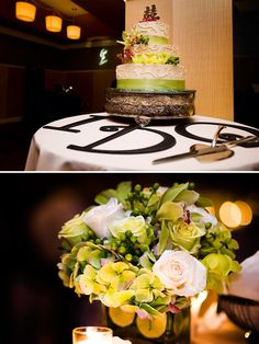 Nice detail added to cake table - I Do like this . . .