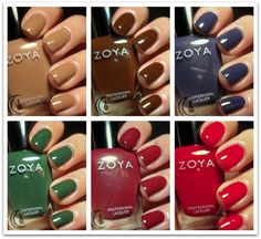 Zoya Fall 2013 Cashmere Collection (by The Polish Hoochie)