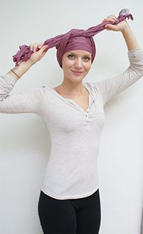 Easy Long Turban Tying Chemo Scarf Guide | Suburban Turban