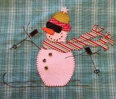 Tom Turkey PDF Applique Pattern for Tea Towel by Quilt Doodle Designs Applique Pillows, Applique Quilt Patterns, Applique Designs, Snowman Quilt, Cute Snowman, Snowmen, Winter Quilts, Landscape Quilts, Doodle Designs
