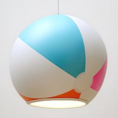 Beach Ball Lampshade | Kids' Furniture That Really Should Come In Adult Sizes