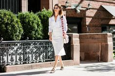 Street style à la Fashion Week printemps-été 2017 de New York  Photos par Sandra…