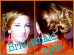 Bridesmaid Hair: Beautiful Easy Updo