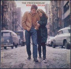 Bob Dylan & Suze Rotolo on the Freewheelin' Bob Dylan album cover
