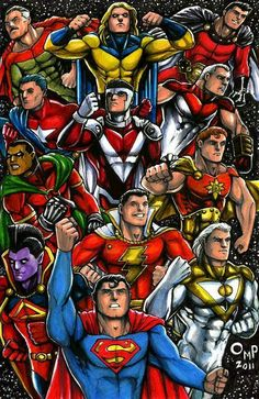 strongest men in the universe omniman, sentry, superior, Samaritan, Mr majestic, supreme, icon, captain marvel, Hyperion, gladiator, Superman, Apollo