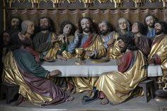 Ingolstadt - Münster Unserer Lieben Frau - altare, dettaglio - Ultima cena - 1425-1536