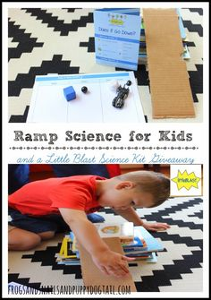 Ramp Science for Kids  on FSPDT ***and a Little Blast Giveaway***  You do not want to miss out on this free science kit! @littleblasts