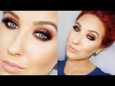 This is another of my favorite looks from jaclyn hill..this is a chocolate cranberry smokey look!!! LOVE!!