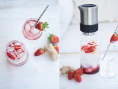 """""""Ice Tea Monday"""" – Scharf, schärfer, Strawberry Ginger Tea – Ein richtig scharfes Erdbeergebräu für sommerliche Temperaturen"""
