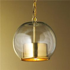 Shades of Light Cap and Globe Pendant Product SKU: PEC1257A AB | http://www.shadesoflight.com/cap-and-globe_pendant-2-finishes.html