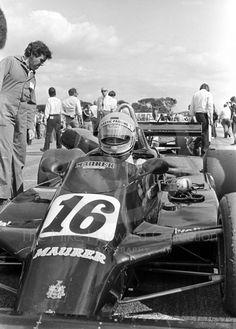 """Eje Elgh - Maurer MM81 BMW/Mader - Maurer Motorsport - III Donington """"50 000"""" 1981 - The John Howitt Trophy Race"""
