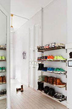 Para un interior de armario