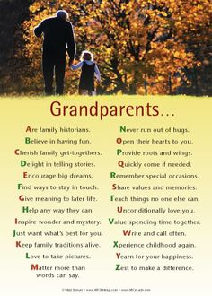 grandparents day quotes and poems | Grandparents Day                                                                                                                                                                                 More