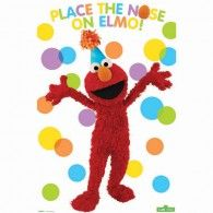 Have tons of fun at your Sesame Street birthday party with this great party game where player take turns trying to place a nose on Elmo. Includes 1 colorful polka dot poster with Elmo and 8 nose stick Elmo Party Supplies, Sesame Street Party Supplies, Cake Supplies, Elmo Birthday, Birthday Party Games, Birthday Ideas, Happy Birthday, Birthday Stuff, Birthday Photos