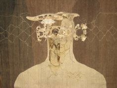 judith mason - tapestry 'bell jar man' South African Artists, The Bell Jar, Painting & Drawing, Contemporary Art, Tapestry, Fine Art, This Or That Questions, Abstract, Figure Studies