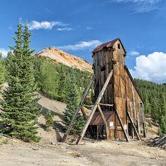 Yankee Girl Mine, Red Mountain, Colorado