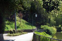 Hilmteich Garden Bridge, Austria, Sidewalk, Outdoor Structures, Graz, Viajes, Side Walkway, Walkway, Walkways