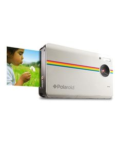 Take a look at this White Polaroid 10-Megapixel Digital Camera & Printing Paper Set by Polaroid on #zulily today!