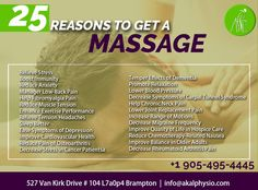 Read This To Learn 25 Reasons To Get A Massage.  Contact-us Today: Call: 905-495-4445 Email: Info@AkalPhysio.com #Akal #Physio #Massage #Reasons Relieve Tension Headache, How To Relieve Stress, Joint Replacement, Carpal Tunnel Syndrome, Getting A Massage, Muscle Tension, Low Back Pain, Lower Blood Pressure, Neck Pain
