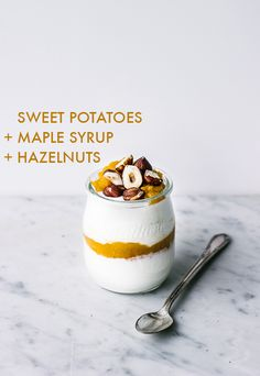 Coconut Yogurt, Hazelnuts, and Sweet Potato Caramel. Don't know about CO YO – the dairy-free yogurt that has taken Australia and England by storm – is now available in the U. CO YO is made from the freshly squeezed cream from Paleo Yogurt, Dairy Free Yogurt, Coconut Yogurt, Fruit Yogurt, Yogurt Parfait, Paleo Dessert, Kefir, Paleo Breakfast, Breakfast Recipes