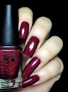 Fashion Polish: Colors by Llarowe Fall collection part 2 : the holos! Cute Nails, Pretty Nails, Gel Nails, Acrylic Nails, Holographic Nail Polish, Toe Nail Designs, Nail Polish Collection, Nail Tutorials, Gorgeous Nails