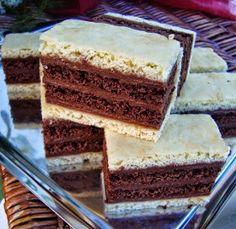 Receptek és egészség tippek: Fehér-kakaós szelet