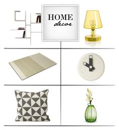 """""""Home Decor"""" by lovethesign-shop ❤ liked on Polyvore featuring interior, interiors, interior design, home, home decor, interior decorating, Holmegaard, ferm LIVING, livingroom and Home"""