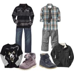 Winter BOY Fashion - Gap clothing
