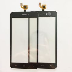 For Explay Rio Play Capactive Touch Screen Digitizer Front Glass Replacement Black Color Free Shipping