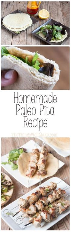 If you're looking for the perfect paleo pita for your gyros, souvlaki, kebabs…