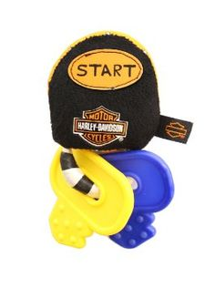 ON SALE NOW!! Kids Preferred Harley Davidson Teether Keys with Sound