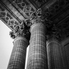 Column, Architecture, France, Paris, Detail, Scully