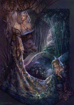 animované elfské porno