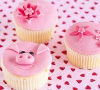 Basis cupcakes met fondant/marsepein - Cupcakes - Recepten | Deleukstetaartenshop.nl