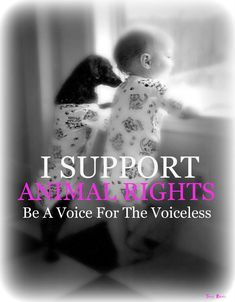 We are their voices!! The innocent, helpless, defenseless, and voiceless. Let your voice be heard.