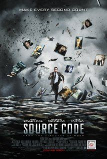 SOURCE CODE. Plot-heavy Hitchcockian mash-up of 'Quantum Leap' and 'Groundhog Day' from Zowie Bowie. 3 stars
