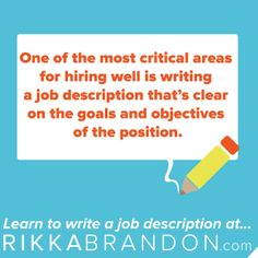 A Job Description Is Not A Job Ad Find Out How To Write A Great